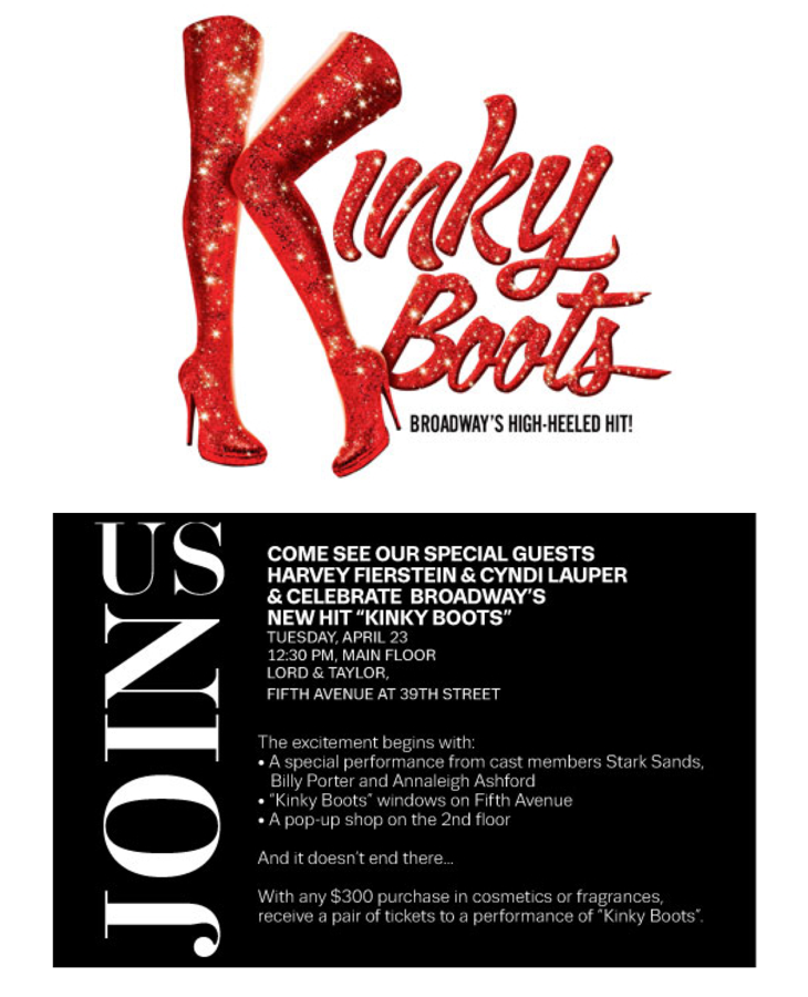 lord & taylor kinky boots