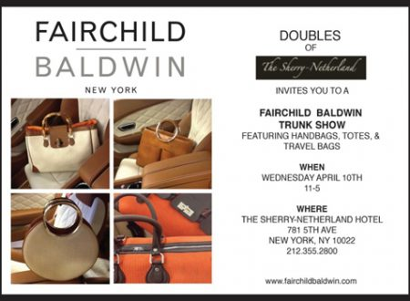 Fairchild Baldwin Trunk Show