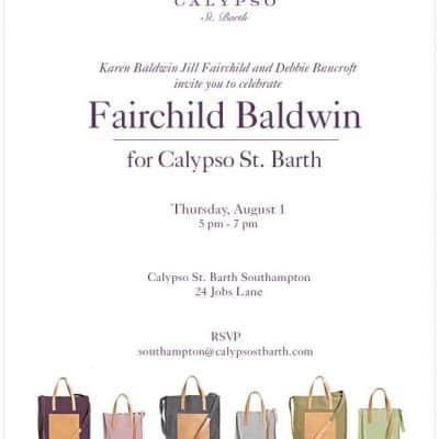 Fairchild Baldwin for Calypso St. Barth
