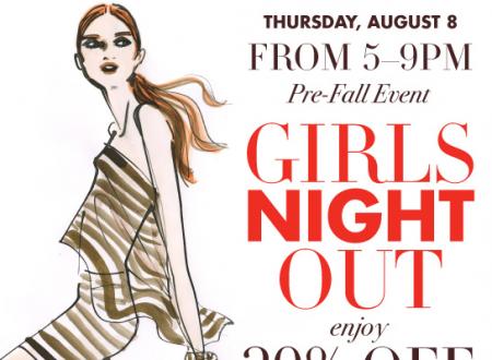 Henri Bendel Girls night out