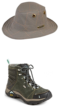Hat / Hiking Boots