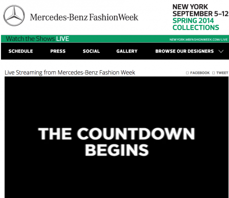 Mercedes- Benz Fashion Week