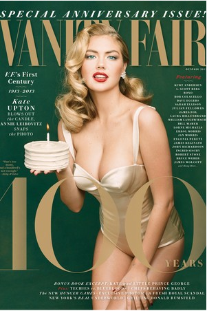 WWD:  Kate Upton Vanity Fair Issue