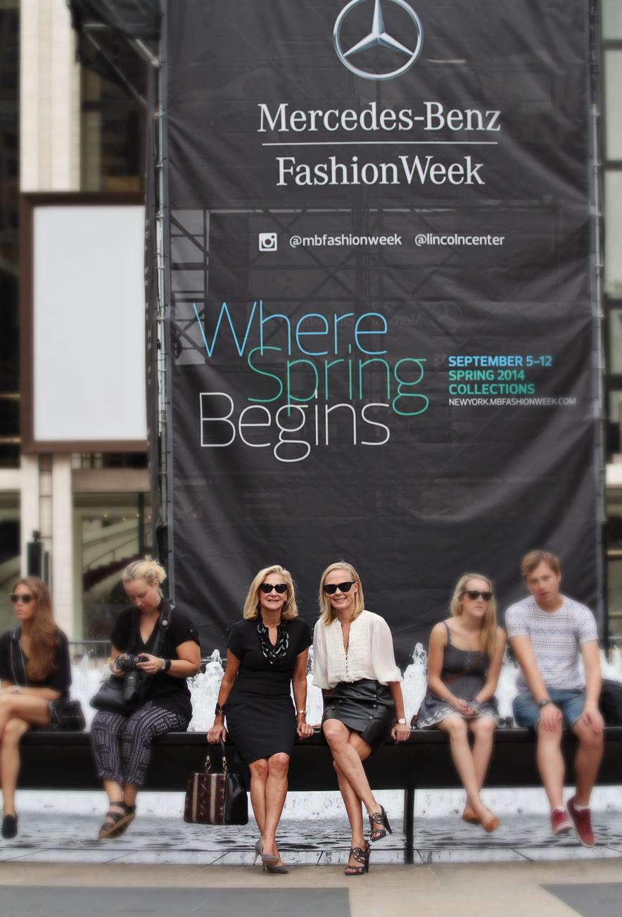 karen klopp hilary dick new york fashion week.