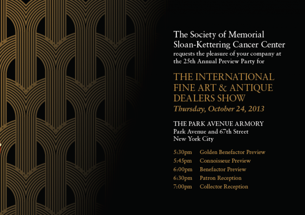 mskcc antique show