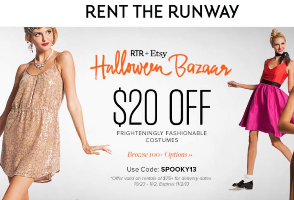 Rent the Runway Halloween