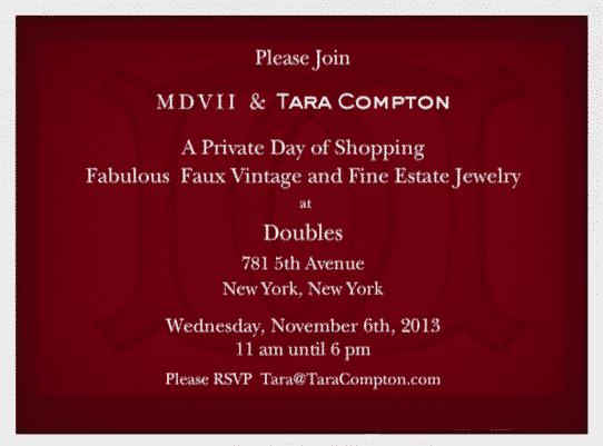 MDVII & Tara Compton at Doubles