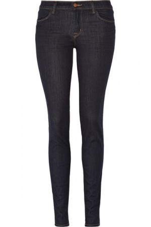 J Brand 620 Power Stretch mid-rise leggings-style jeans