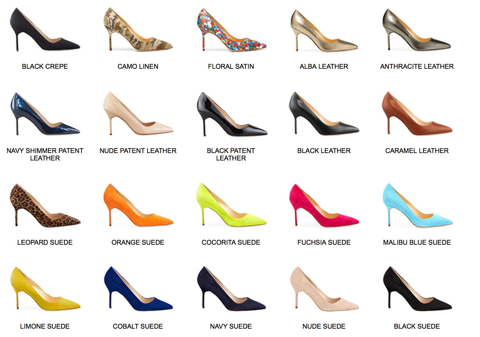 manolo blahnik shoes price list