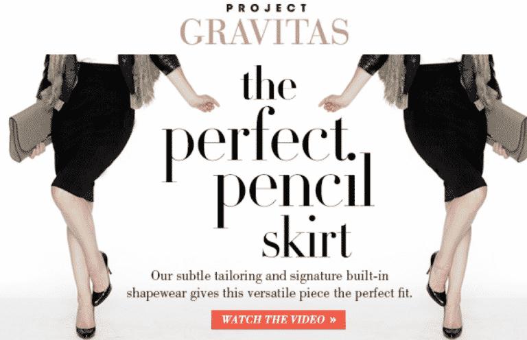 Perfect Pencil Skirt Gravitas