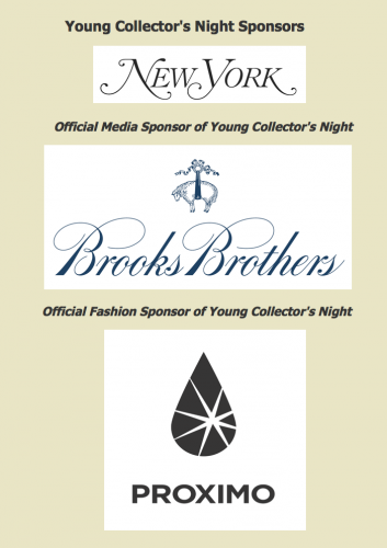 Young Collectors Sponsors