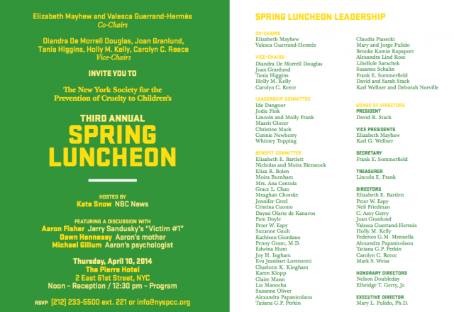 NYSPCC Spring Luncheon