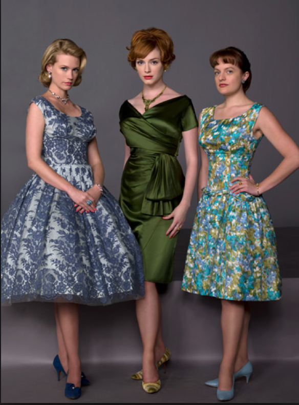 what to wear 1950 mad men party