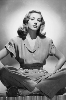 Cross-Legged Bacall