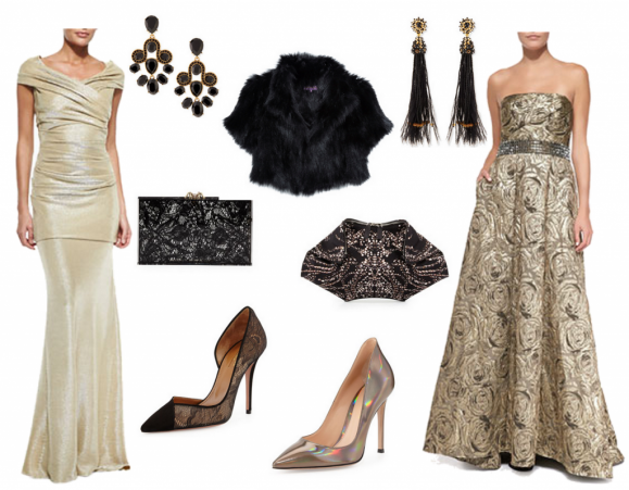 what to wear black tie, what to wear gala
