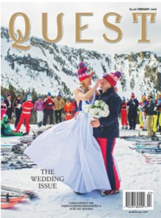 quest magazine wedding issue