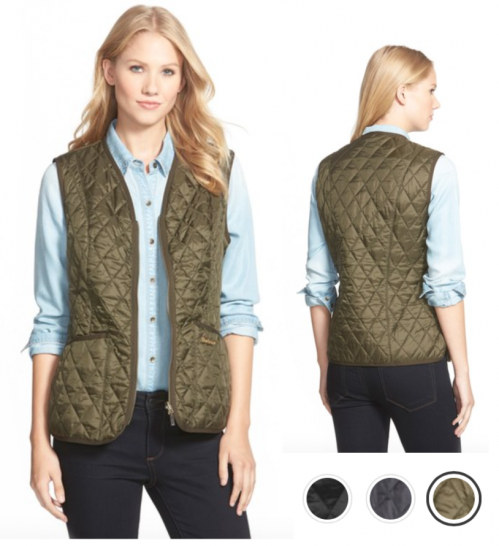 packing for travel quilted vest