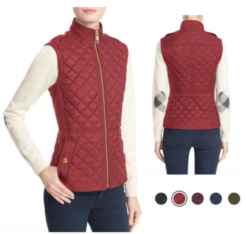 packing for travel quilted vests