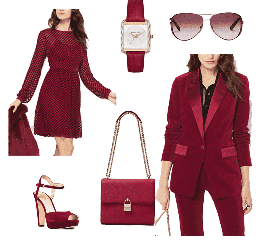 Michael Kors in Red