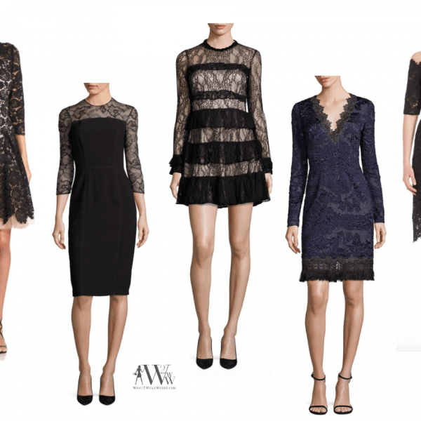 what to wear black tie, what to wear cocktail, black lace, romantic dressing, karen klopp, fashion advice, packing for travel