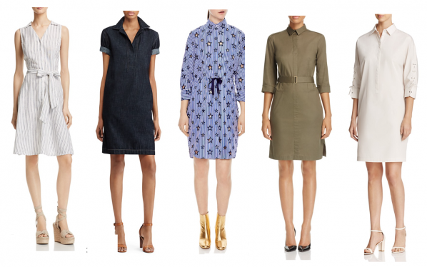 what to wear today, summer shirt dress