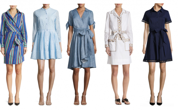 what to wear today, shirdresses