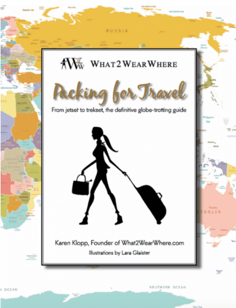 Packing For Travel By Karen Klopp book.