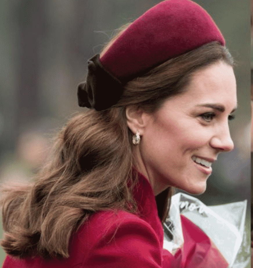 TOWN & COUNTRY:  Kate Middleton Has A New Signature Look: The Hatband