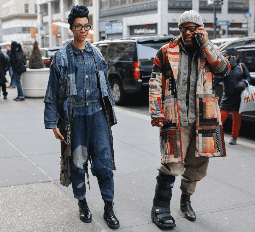 Phil Oh's Best Street Style NYFW Vogue