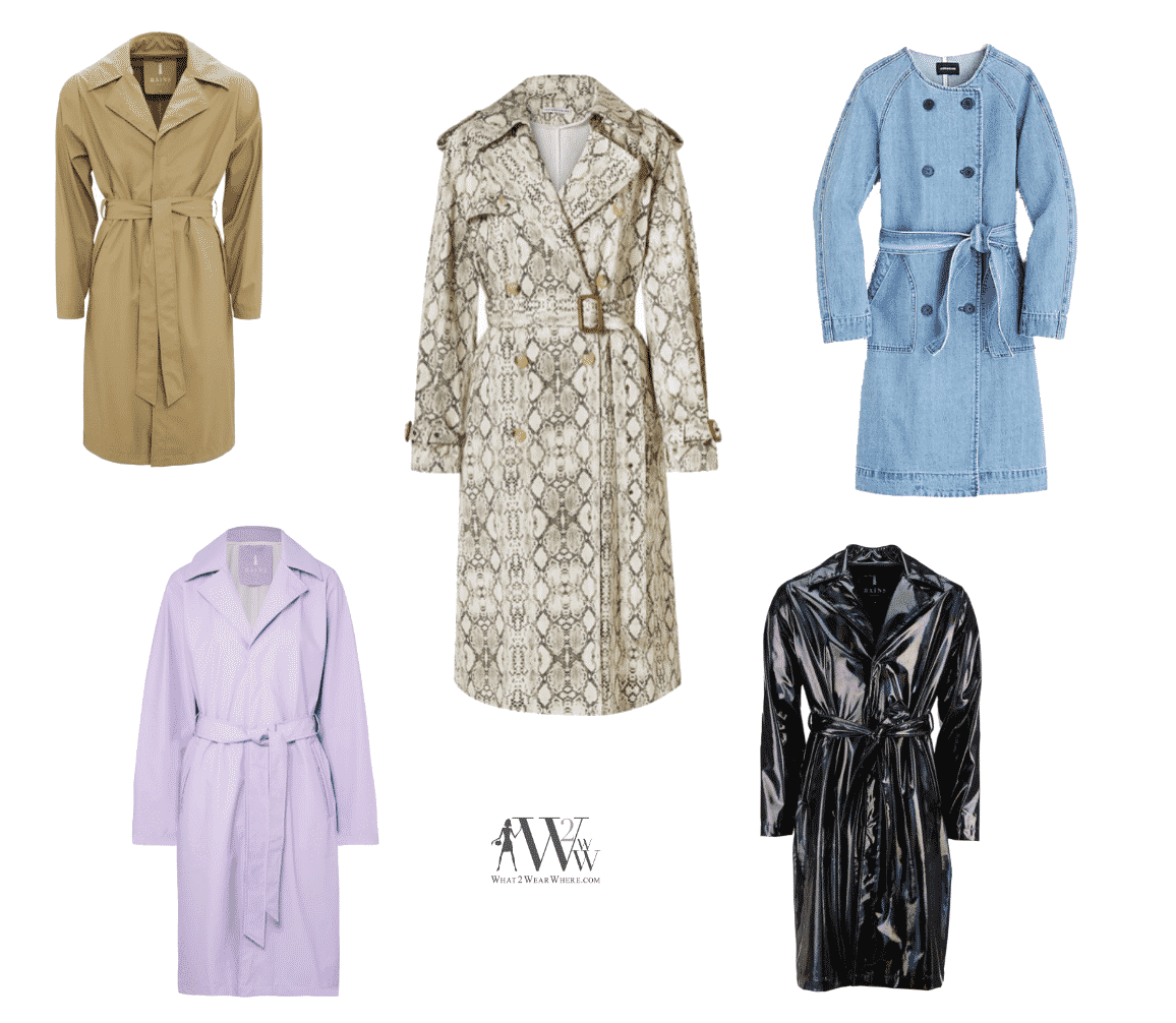 5 Trends in Trench Coats