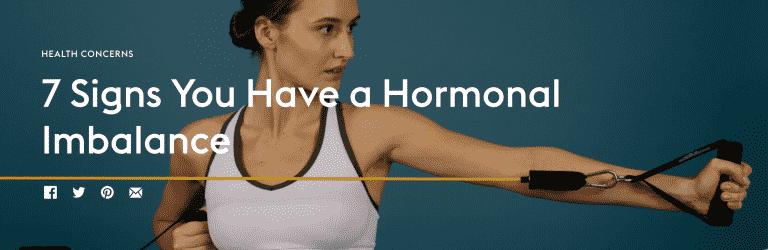 Parsley Health , Hormonal Imbalance.