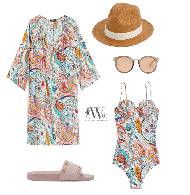 Packing For Travel, what to wear to a pool.