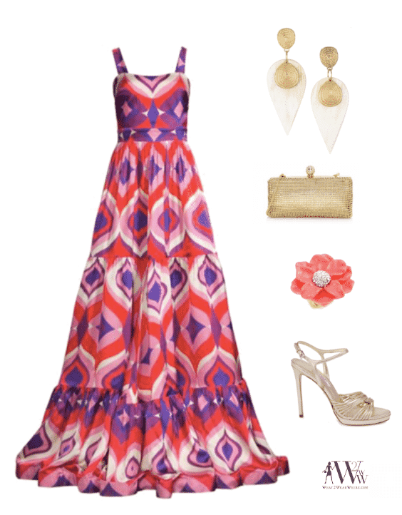 What to wear to the New York Botanical Garden Conservatory Ball honoring Maureen Chilton.