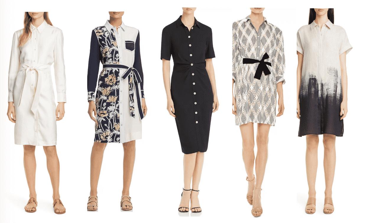 10 Best Summer Shirt Dresses/ Restaurant Week