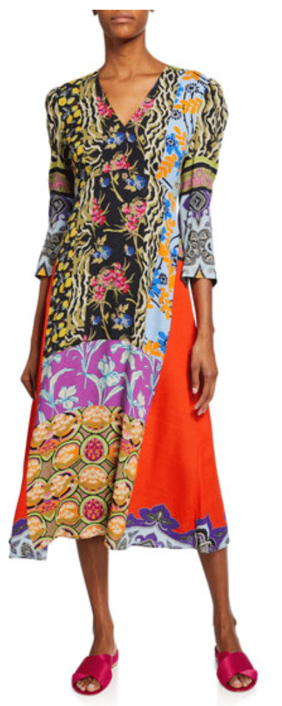 what to wear destination wedding, Etro Patchwork Tunic