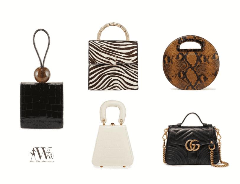 Karen Klopp picks Top Fall Trends, #1 is Small bags.
