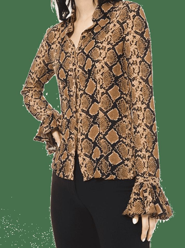 Fall Trends 2019 Karen Klopp Picks Animal Prints Tops