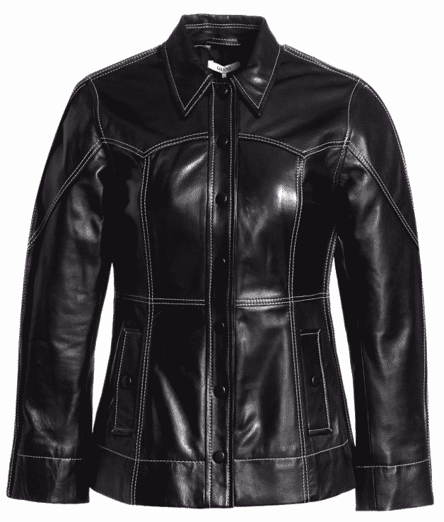 Fall Fashion Trends 2019.  Karen Klopp pick her must haves, Black Leather Jacket.