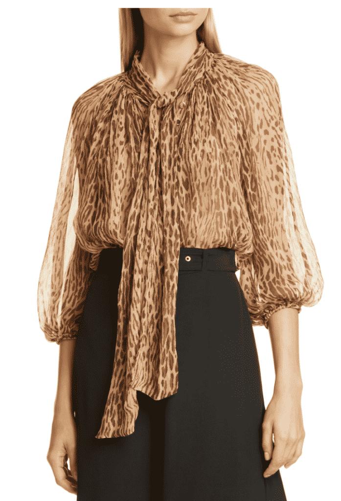 Fall Fashion Trend. Zimmerman Animal Trend blouse